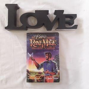 Other - D. Jason Cooper Esoteric Rune Magic